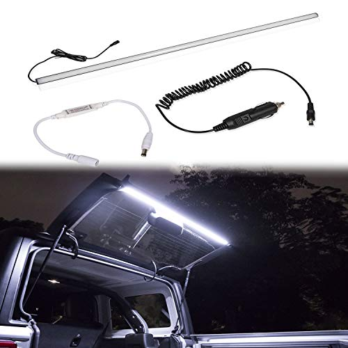 (Yoursme LED Rear Glass Lift Gate Hatch Dome Light Bar Cargo Trunk for 2018 2019 Jeep Wrangler JL JLU Great for Camping Fishing Tailgating and More at Night)