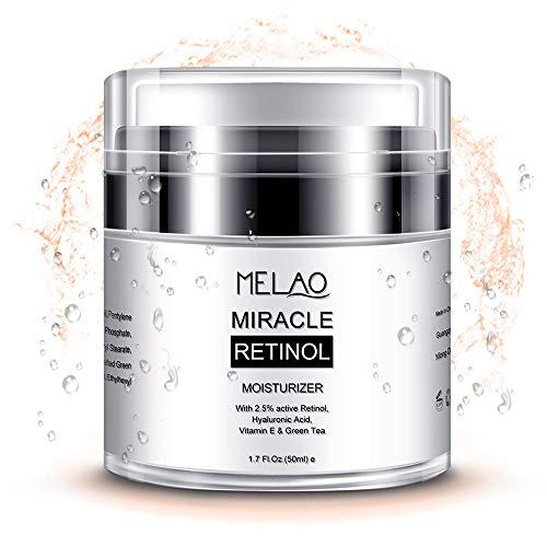 Retinol Cream Moisturizer For Face With 2.5% Retinol