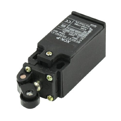 Uxcell XCK-P 240VAC 3 Amp Momentary Rotatable Roller Plunger Actuator Limit Switch