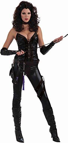 [Forum Novelties Women's Sexecutioner Costume, Black, Standard] (Dominatrix Halloween Costumes)