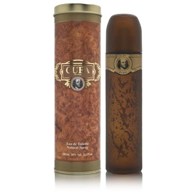 Cuba Gold Cologne by Cuba for Men - 3.3 oz / 100 ml