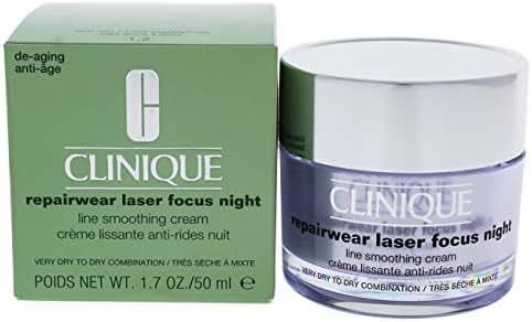 Clinique Repairwear Laser Focus Night Line Smoothing Cream By Clinique for Women - 1.7 Oz Cream, 1.7 Oz