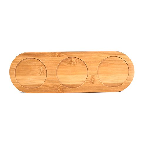 Wall of Dragon Pepper Mill Tray, BambooTrays