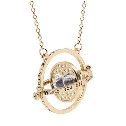 VANVENE Classic Casual Magic Hourglass Necklace (Fairy Tale Themed Halloween Party)