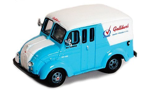 - Divco Delivery Truck, Gallikers Dairy Products , 1950, Model Car, Ready-made, American Heritage Models 1:87 by American Heritage