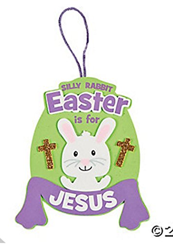 Easter is for Jesus Ornament Craft Kit (Makes 12)