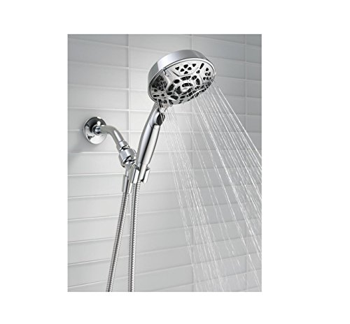 Delta 75716 7-Spray Hand Shower with H2Okinetic in Chrome by Delta