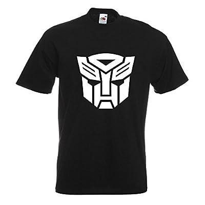 Kiwistar Transformers Emblem T-Shirt In 15 Different Colors - Men's Funshirt Printed Design Fun motive Top Cotton S M L XL XXL