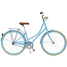 Critical Cycles Dutch Style Step-Thru 1-Speed Hybrid Urban Commuter Road Bicycle