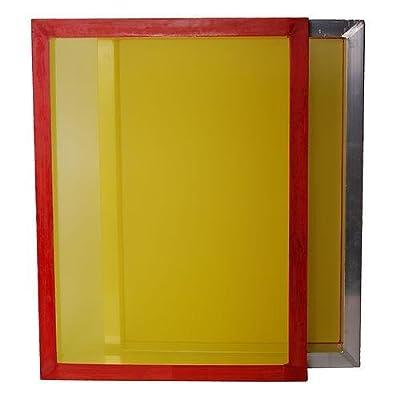 "4-Pack 25""x36"" 305 tpi Yellow Mesh Aluminum Frame Screen Printing Screens"