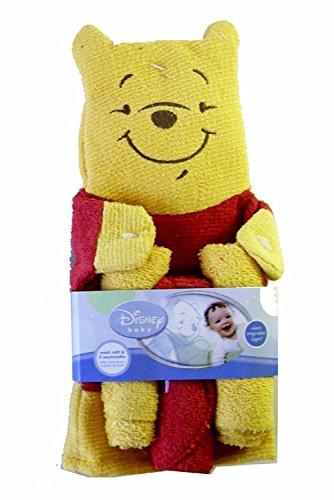 Winnie l'Ourson Wash Mitt bébé et gant de toilette Set