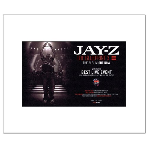 Amazon jay z blueprint 3 mini poster 21x135cm kitchen amazon jay z blueprint 3 mini poster 21x135cm kitchen dining malvernweather