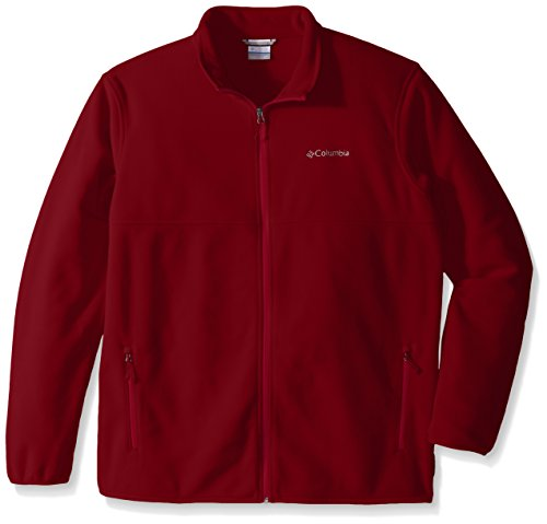 Columbia Men's Tall Fuller Ridge Fleece Jacket, 4X/Tall, Beet by Columbia