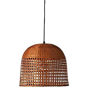 "Stone & Beam Modern Bamboo Pendant, 75""H, With Bulb"