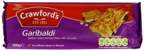 Crawfords Garibaldi Biscuits, 100 Gram (Pack of 12)