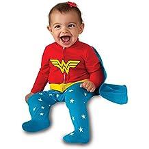 Rubie's Costume Baby Girl'S DC Comics Superhero Style Baby Wonder Woman Costume, Multi, 0-6 Months