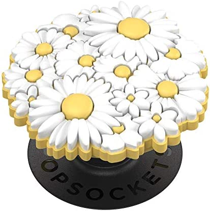 PopSockets: PopGrip with Swappable Top for Phones and Tablets - Popouts White Posies