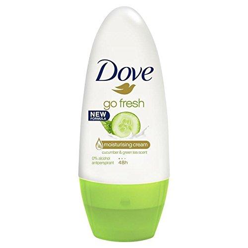 Dove Roll Anti Perspirant Moisturising Cream Go Fresh (Cucumber & Green Tea Scent, 3X50Ml/1.7 Oz)