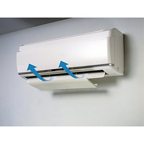 Air Wing Pro The Original Air Conditioner Deflector Ivory