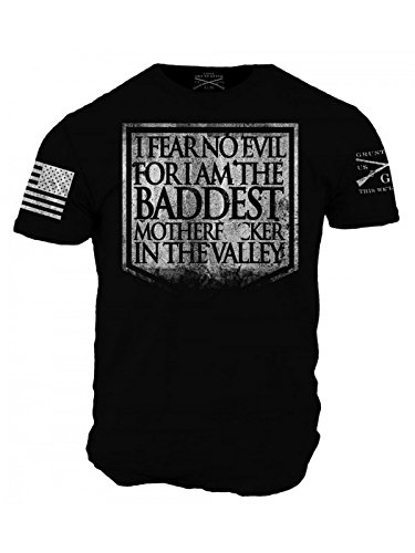 Grunt Style Fear No Evil Men's T-Shirt (X-Large) by Grunt Style