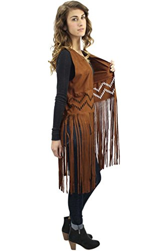 Gypsy Leather Vest - 3