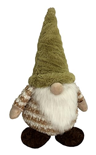 Petlou Durable Plush GNOME Dogs and Cats Toys With Multi-Squeak and Crinkle In Different Size (19 Inch)