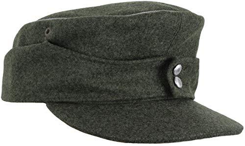 Erel Replica WW2 German M43 Officers Cap (Field Grey, 56 cm)