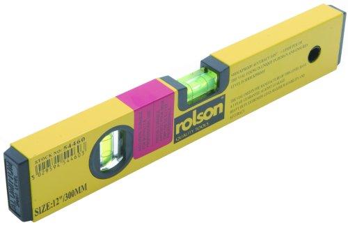 Rolson 54460 Alloy Spirit Level 300-0-300mm wc Using red Gauge Fluid 54460