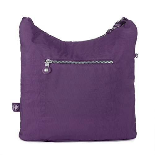 Pocket Oakarbo Vivid Crossbody Nylon Violet Bag 1203 Multi Medium aEqBFrE