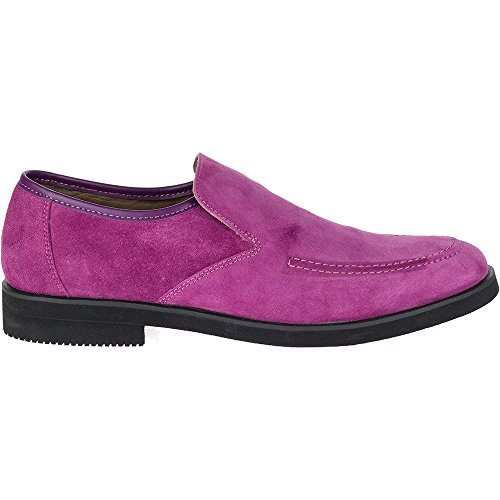 Hush Puppies Heren Bracco Mt Slip Op Slip-on Purple Suede