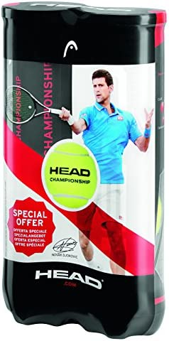 Head Cabeza Unisex Campeonato 2 x 4 Pelotas de Tenis Bi-Pack ...