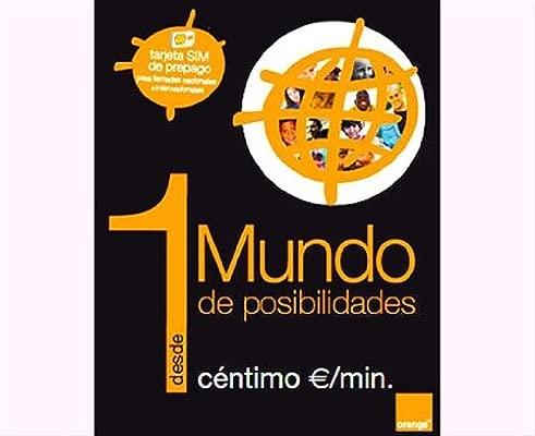 Orange Mundo - Pack SIM tarjeta prepago: Amazon.es: Electrónica