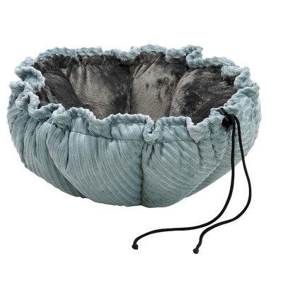Buttercup Cat Bed (Bowsers Buttercup Bed for Small Dogs and Cats, Blue Bayou, Small 24