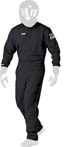 Simpson Racing Super Sport Black Large Suit by Simpson Racing (Image #1)