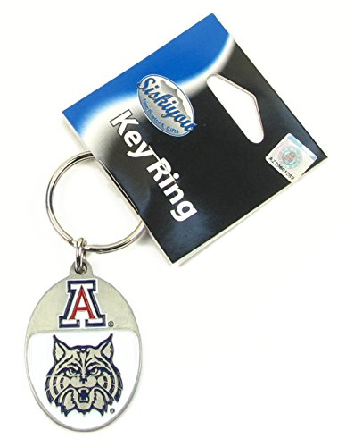 College Team Logo Key Ring - Arizona Wildcats Arizona Wildcats Wildcat Ring