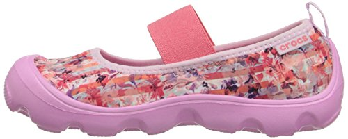 154f81fec9402 crocs Duet Busy Day Floral PS Mary Jane (Toddler/Little Kid ...
