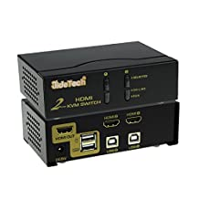 2 Port HDMI KVM Switch Support Windows 2000/XP/Vista Linux and Mac 480i,480p,720p,1080i,and 1080P(HDTV)/1920x1200