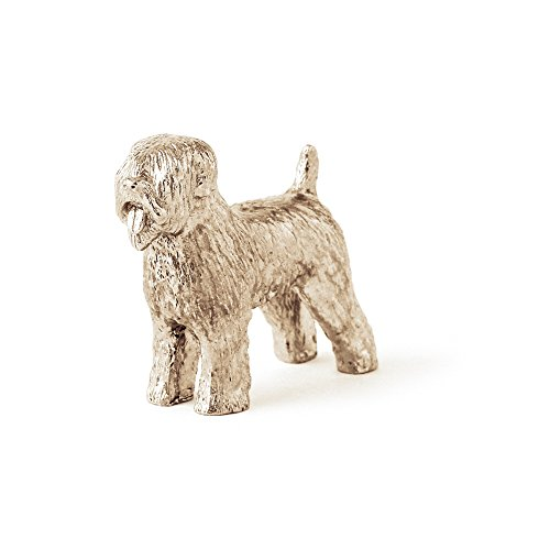 (Soft Coated Wheaten Terrier Made in UK Artistic Style Dog Figurine Collection)