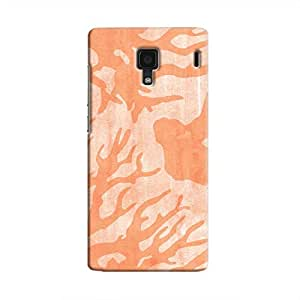 Cover It Up - Pink Shades Nature Print Redmi 1s Hard Case