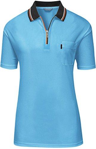 Best Golf Shirt (activally best golf shirts for women SKY BLUE,XXL)