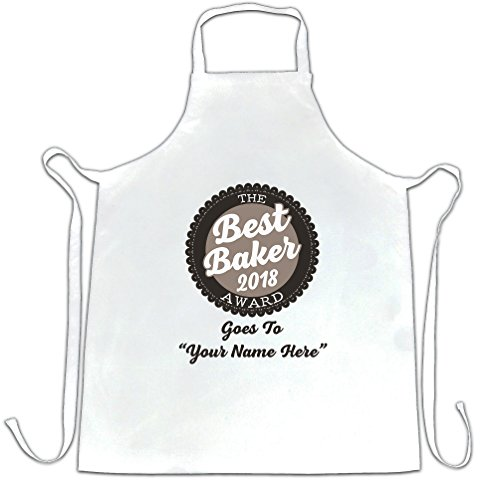 Personalized Apron Valentine (Custom Chefs Apron Best Baker 2018 Award Goes To