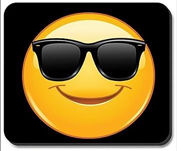 Alfombrilla de ratón - gafas de sol Emoji: Amazon.es ...