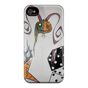 New Shockproof Protection Case Cover For Iphone 4/4s/ Doll Case Cover