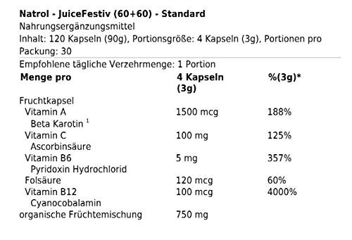 Amazon.com: Suplemento nutricional en cápsulas Natrol ...