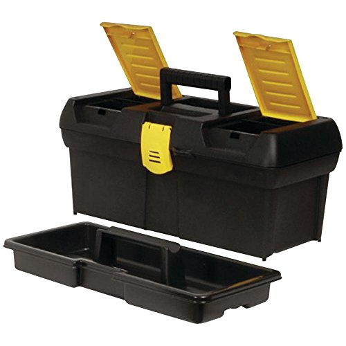 Tool Box 16in W/plastic Latch by Stanley