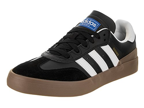 (adidas Busenitz Vulc RX (Core Black/White/Gum 5) Men's Skate Shoes-11.5)