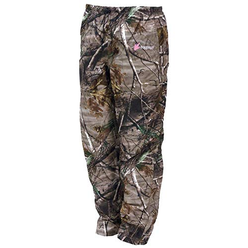 Frogg Toggs Pro Action Water-Resistant Rain Pant, Women's, Realtree Xtra, Size X-Large