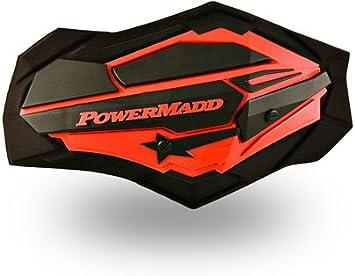 PowerMadd SENTINEL Handguard Guards KIT BLACK W// ARMOR Snowmobile Snow 34410