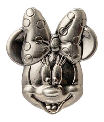 Disney Minnie Head Pewter Lapel Pin ()