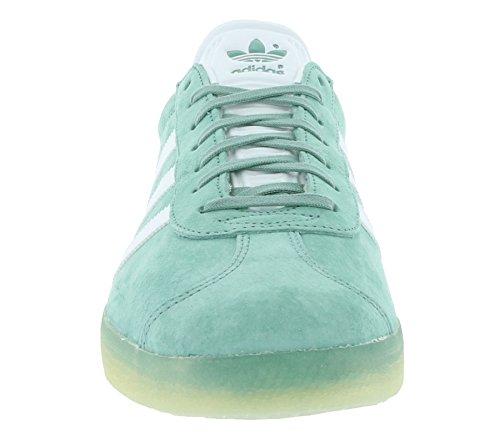 adidas Gazelle, Zapatillas Unisex Adulto verde blanco